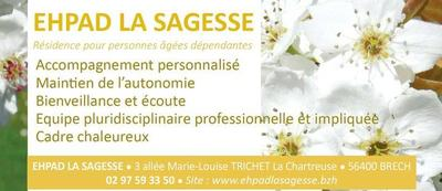EHPAD La Sagesse 56400 Brech