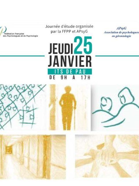 Journée d'étude gérontologique à Pau le 25 janvier 2018