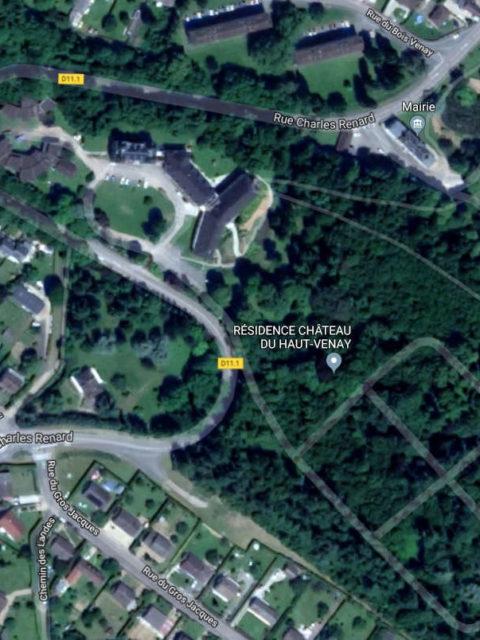 Résidence services en construction à Saint-Lubin-des-Joncherets