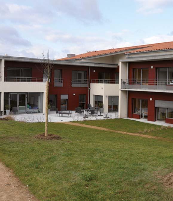 EHPAD Résidence Sainte-Marie, EHPAD Étagnac 16150