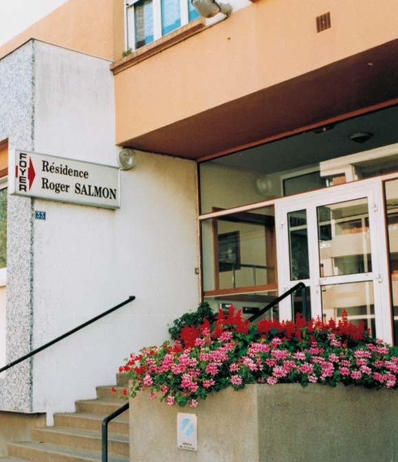RESIDENCE ROGER SALMON, Résidence autonomie Angers 49000-49100