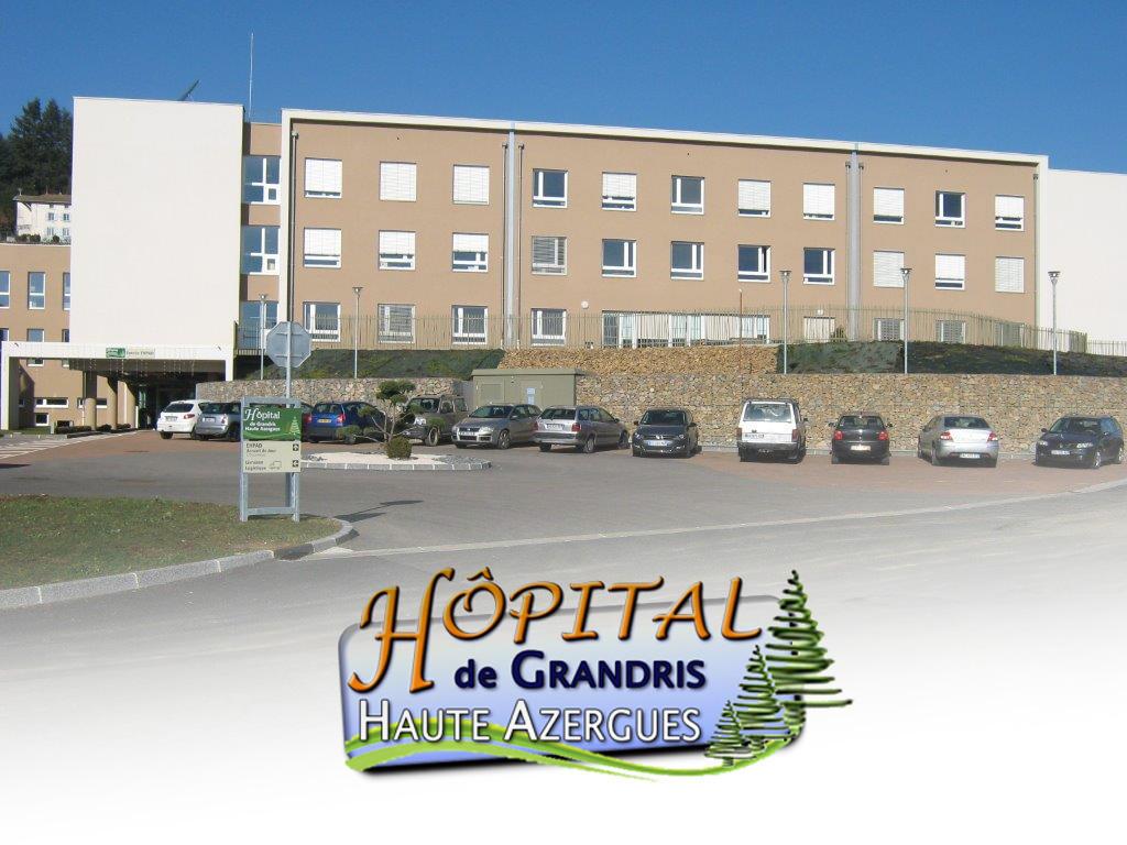 EHPAD HOP. DE GRANDRIS, EHPAD Grandris 69870