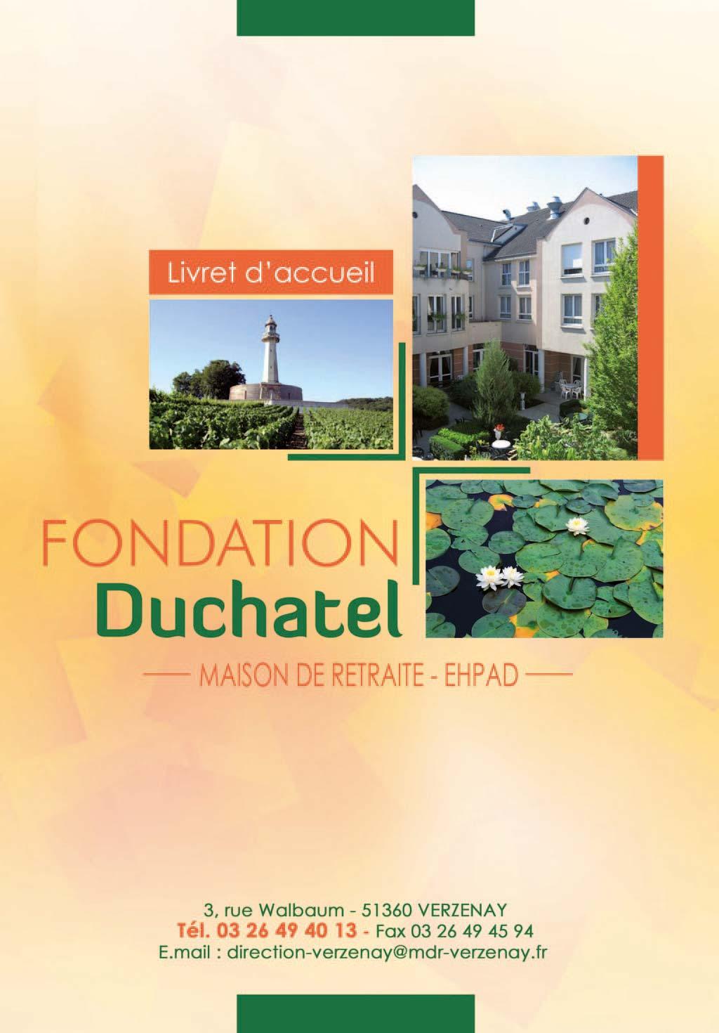 EHPAD Fondation Duchatel, EHPAD Verzenay 51360