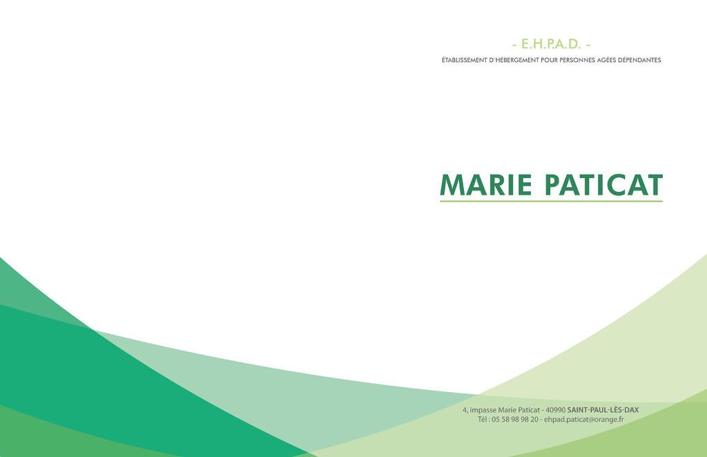 EHPAD MARIE PATICAT, EHPAD Saint-Paul-lès-Dax 40990