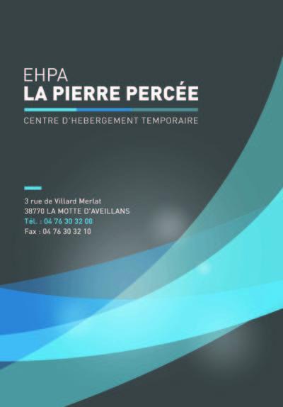 HEBERG.TEMPOR.LA PIERRE PERCEE 38770 La Motte-d'Aveillans