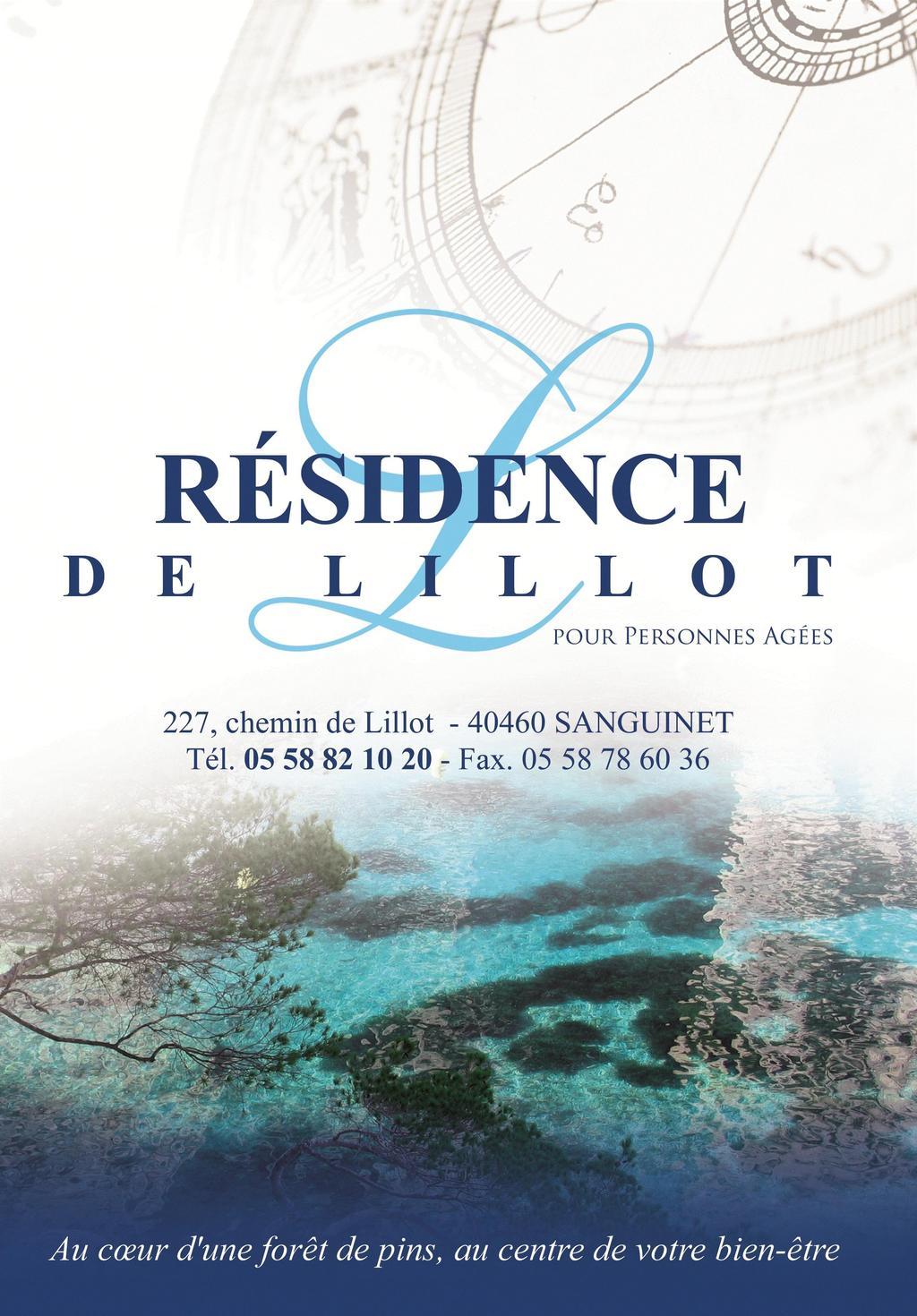 Résidence Personnes Âgées de Lillot, Résidence autonomie Sanguinet 40460