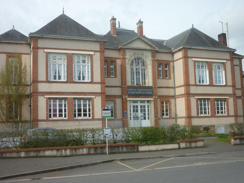 EHPAD Résidence Bertrand De Puisard, EHPAD Sainte-Jamme-sur-Sarthe 72380