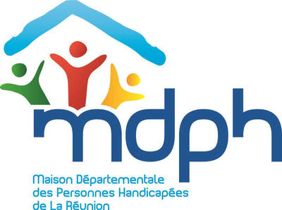 Logo Maison des personnes handicapées La Réunion (Maison Départementale du Handicap)